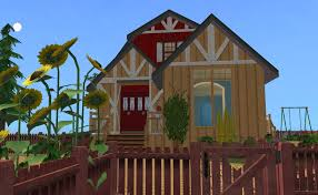 mod the sims the little red barn house