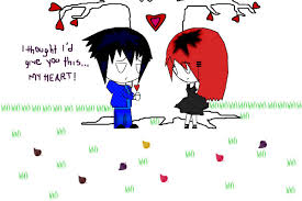 sweet love a cartoons speedpaint drawing by mcastro4 queeky