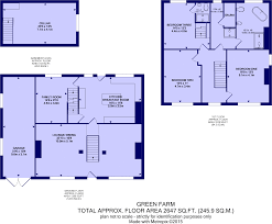 newseum floor plan 3 bedroom detached house for sale in green farm calverley lane