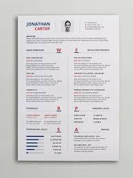 Resume Template Modern by Modern Resume Cv Template Curriculum Vitae Modern