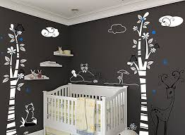 Nursery Wall Decal Nursery Wall Decals With Modern Flair