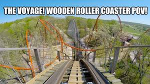 this is one crazy fast and fun coaster voyage roller coaster