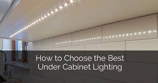 how to put lights above cabinets how to choose the best cabinet lighting home