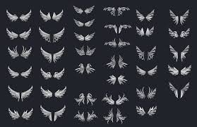 wing designs 1 by dashase on deviantart