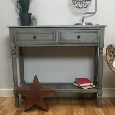 Grey Console Table Parisian Grey Console Table The Farthing Homewares