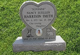 upright headstones single headstone upright west chestnut monument inc
