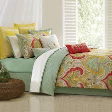 jaipur green bohemian paisley cotton comforter set u2013 sky iris
