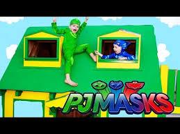 pj masks superheroes catboy gekko park accident fire irl pj masks