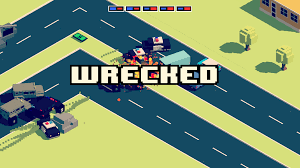 pixel car top view smashy road wanted android apps on google play