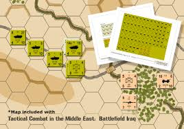 Middle East Map Games by Tcme Toshach Miniatures