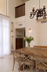 The Brick Dining Room Furniture Traditional Dining Chairs Dining Room Mediterranean With Exposed