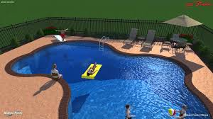 free form pool designs rideau pools ottawa 3 d pool design freeform pool youtube