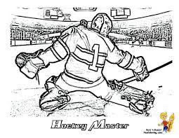 hockey coloring page funycoloring