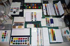 the best watercolour paint for artists just watercolorcolor pans