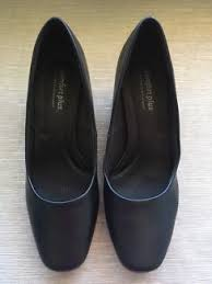 ladies leather shoes black size 9 homy ped comfort women u0027s shoes