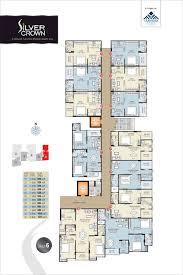 2bhk Floor Plan Floor Plan Silver Crown At Gandhi Path Vaishali Nagar Jaipur