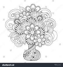 Pencil Sketch Of Flower Vase Easy Colored Pencil Drawings Of Flowers Drawing Of Sketch