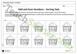 odd and even numbers resource collection u2013 teach starter