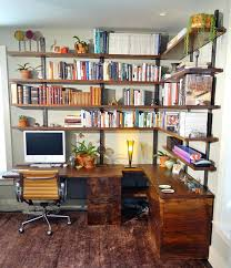 White Wall Bookcase by Built In Shelves With Desk U2013 Appalachianstorm Com