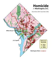 Metro In Dc Map by Crime In Washington D C Wikiwand