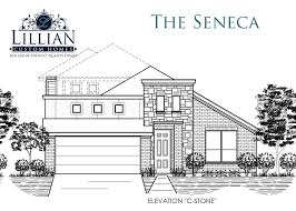 the seneca saginaw springs new home floor plan saginaw texas