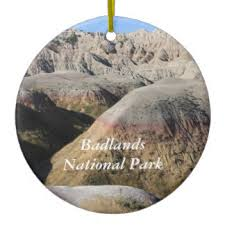 badlands national park ornaments keepsake ornaments zazzle