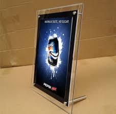 led picture frame light led frames backlit box custom backlit box signtrade