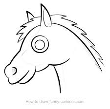 photos horse drawings easy to draw drawing art gallery