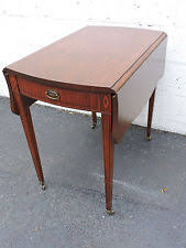drop leaf end table mahogany drop leaf table ebay