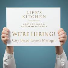 Kitchen Manager Re We U0027re Hiring City Based Events Manager