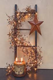 garlands for stairs fireplaces and lights founterior