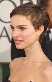 highlights in very short hair very short pixie cut side pinteres