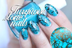 Water Challenge Tutorial Nail Turquoise Nails Tutorial Water Marble