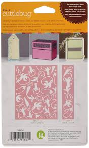 amazon com cuttlebug cricut a2 embossing folder and border charles