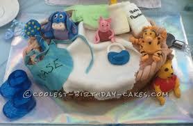 winnie the pooh baby shower cake cool winnie the pooh baby shower cake