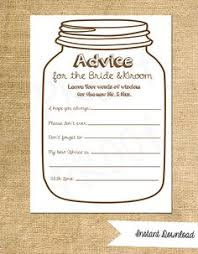 wedding wishes and advice cards wedding advice sign leave advice and by infinitelovedesign