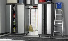 Janitorial Storage Cabinet Kobalt Garage Organization Garage Cabinets Garage Storage U0026 More