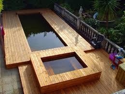 photos de petites piscines en bois sans liner odyssea piscines