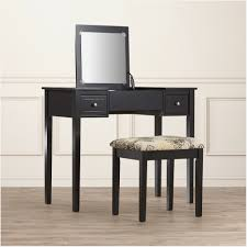 Black Vanity Set With Lights Ikea Vanity Table With Mirror And Bench Nuhsyr Co