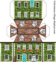 printable model house template christmas house template dcbuscharter co