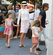 kidman and keith enjoy family day out with their