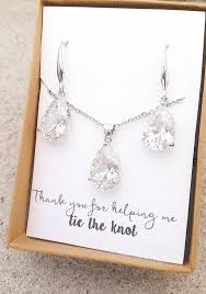 bridesmaid jewelry gifts best 25 bridesmaid jewelry gift ideas on bridesmaid