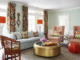 living room colorful pillows overstock curtains curtain colors