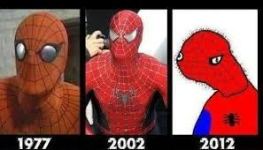 Spider Man Meme - evolution of spider man meme by ledah memedroid
