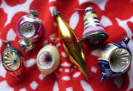 1950s shiny brite ornaments vintage from my pers flickr