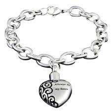 cremation bracelet stainless steel always in my heart cremation bracelet vision