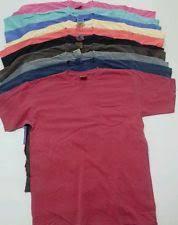Comfort Colors Shirts Short Sleeve Comfort Colors Solid Basic Tees For Men Ebay