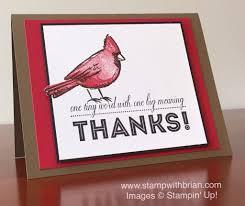 joyful season thank you card stamp with brian