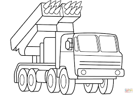 military hummer drawing multiple rocket launcher coloring page free printable coloring pages