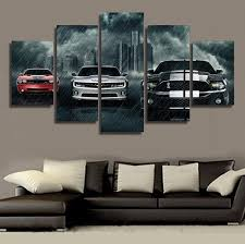 5piece canvas prints movie poster christmas picture calligraphy